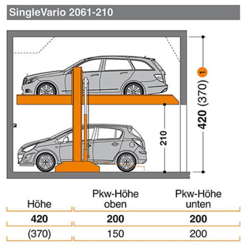 Kosten single vario 2061 is